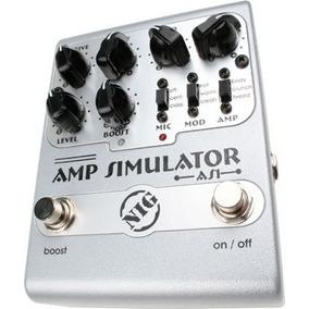 Pedal Nig Amp Simulator | As1 | Equalização | Guitarra