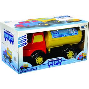 Brinquedo Caminhão Pipa De Plástico Maptoy Praia