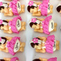 Kit 10 Bebe Biscuit Lembrancinha Nascimento Maternidade Cha
