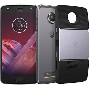 Celular Motorola Moto Z2 Play Xt1710 Projector Edition, Plat