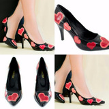 Sapato Coração Feminino Scarp ( Marca Torricella** Coração)