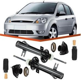 Par 2 Amortecedor Fiesta Hatch Sedan 2005 2006 Cofap + Kits