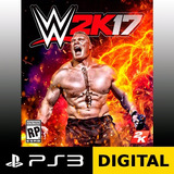 Wwe 2k17 Ps3 Digital | No Cd