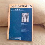 Democracia - 15 Años De Estado De Derecho Uba Libro