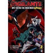 Mangá Vigilante  My Hero Academia Illegals  Vol. 02 + Brinde