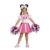 Niñas - Minnie Mouse Cheerleader Traje De Niño 4-6 Hallowee