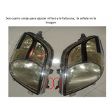 Vendo Faros De Toyota Yaris 2006-2008 Usados Con Detalles