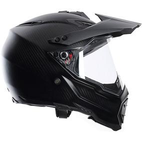 Casco Motocross Agv Ax8 Dual Carbono Novedad Devotobikes