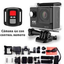 Camara Deportiva Go H9r Graba 4k Control Remoto Sumergible