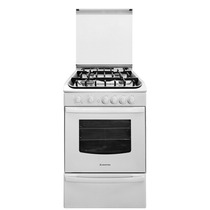 Cocina Ariston A Gas Cg 54s G1h W Gh Grill Tapa Lhconfort