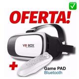 Gafa 3d Vr Box C/control Iphone Samsung Sony Lg Virtual Real
