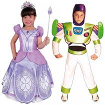 Disfraz Niña Niño Bebe Princesa Buzz Vengadores Frozen Elsa