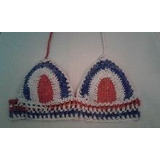 Croptop Tejido En Crochet