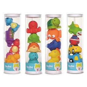Brinquedo Para Banho Bichinhos Felizes Tomtoys - Buba Toys