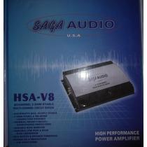 Planta Amplificador Sonido Saga Audio 1800watts Para Carro