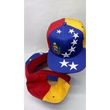 ca6322524c4e8 Gorras Venezuela 100% Nacionalista Tricolor Planas  curvas