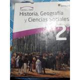 Texto Historia 2º Medio Proyecto Puentes Del Saber $10.000
