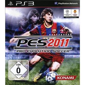 Juego Ps3 Pes 2011 Consola Play Station 3 Español En Caja