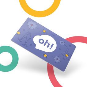 Oh! Gift Card Fiestas $1500. Holder Azul