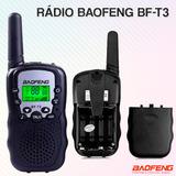 Rádio Comunicador Walk Talk Baofeng Bf T3 Alcance 5km 22 Can