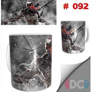 Taza Comics Coleccionables Spiderman Venom # 092