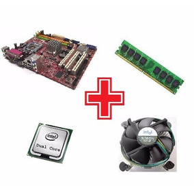 Kit Dual Core Placa Mãe G31m3 Ms-7529 + Cpu + 512mb Ddr2