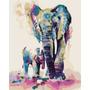 Elefante Con Bebe