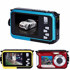 Camara Sumergible Doble Pantalla Lcd 24mp Full Hd Zoom 16x