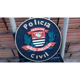 Brasão Polícia Civil Sp