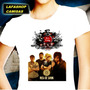 Camiseta Baby Look Feminina Rosa De Saron Camisa Menina Moca