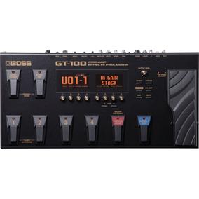 Pedaleira Gt-100 Versão 2.0 - Boss C/nf Gt100