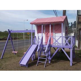 casita para nios y nias easy chamacas y tobogan