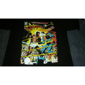 Remera Negra De Superman-muhammad Ali