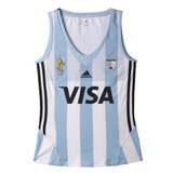 Camiseta adidas Hockey Leonas Home Mujer Bl/ce