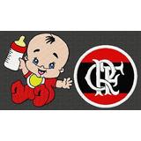 Matriz De Bordados Bca5238 Bebe Com Simbolo Flamengo