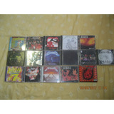 Cds De Rock Metallica, Slipknot, Now 7 Y Otros