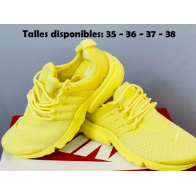wholesale dealer f7f18 4c2cb nike air presto amarillas