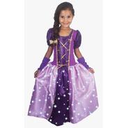 Fantasia Vestido G Longo C/ Led Princesa Lilás 2616 Brinkmod