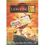 The Lion King 1 1/2 - Dts Thx Dvd Imp Slipcover El Rey Leon