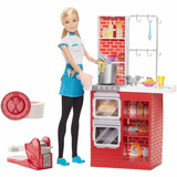 Barbie Quiero Ser Cheff Spaguetti Original Mattel!
