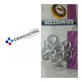 Accesorios Aros Para Cortinero 3/8 12 Pzas Ac-016