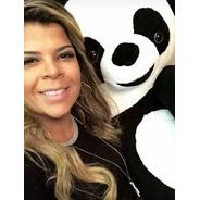 Urso Panda De Pelúcia Grande Gigante 120cm 1,20m +enchimento