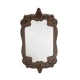Espelho De Vidro Parede Com Moldura De 31,25 X 58,75cm