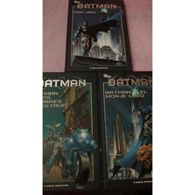 Colección Batman De Planeta Deagostini Tomos 1; 2 Y 3.