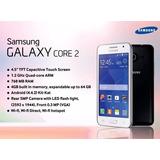 Celular Samsung Core 2 - Personal - Caja -acc - Impecable -