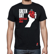 Playeras Buga Cavernicola Green Day American Idiot Rock Punk