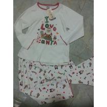 Pijama De Navidad Niños Algodón Peruana