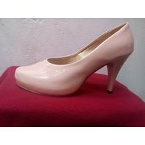 Zapato Taco 9 Color Nude,unica Talla Nº39