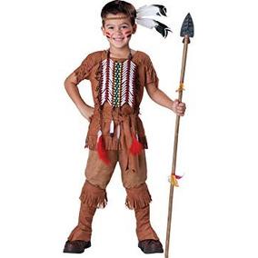 Disfraz Para Niño Traje Valiente Indio Disfraces Incharacte