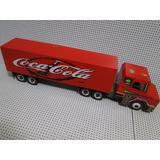 01 Scania Cavalo Trucado Carreta Fechada Bau Cocacola Bitrem
